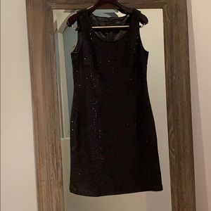 Esprit Black Sequin Dress, Perfect Holiday Dress